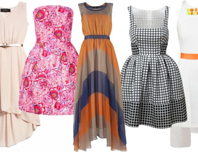 Модные платья лета 2013: фасоны, цвета и детали