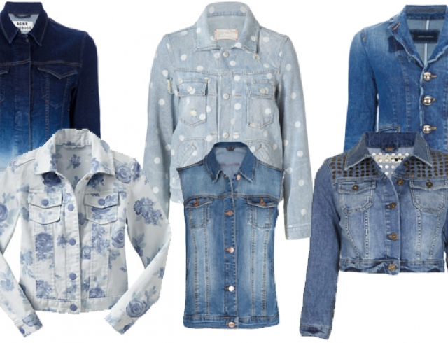 Модные джинсовые куртки: что, где, почем