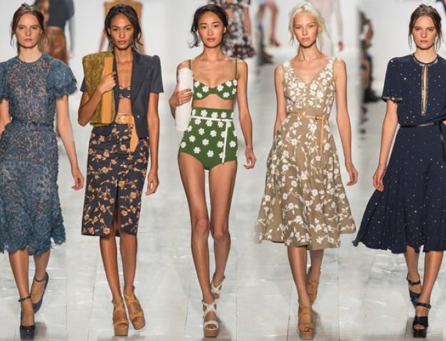 Неделя моды в Нью-Йорке: Michael Kors весна-лето 2014