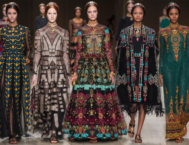 Неделя моды в Париже: Valentino весна-лето 2014