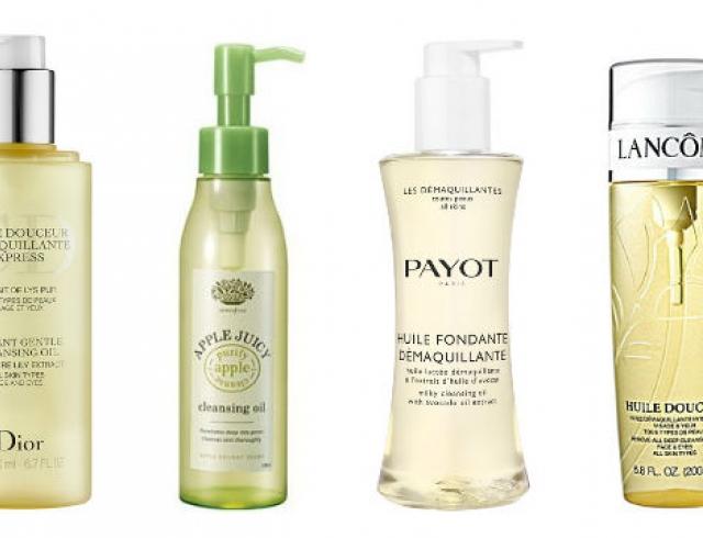 Очищение лица от косметики: гидрофильные масла