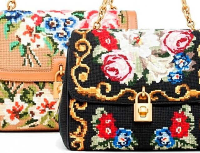 Трендовая сумка в стиле а-ля рус своими руками