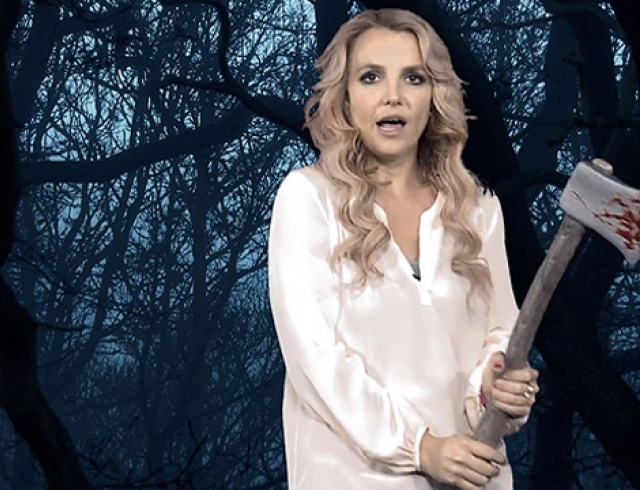 Бритни Спирс поздравила поклонников с Хэллоуином