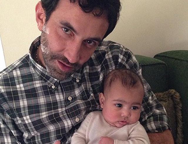 Дочь Ким Кардашьян и Канье Уэста будет одеваться в Givenchy