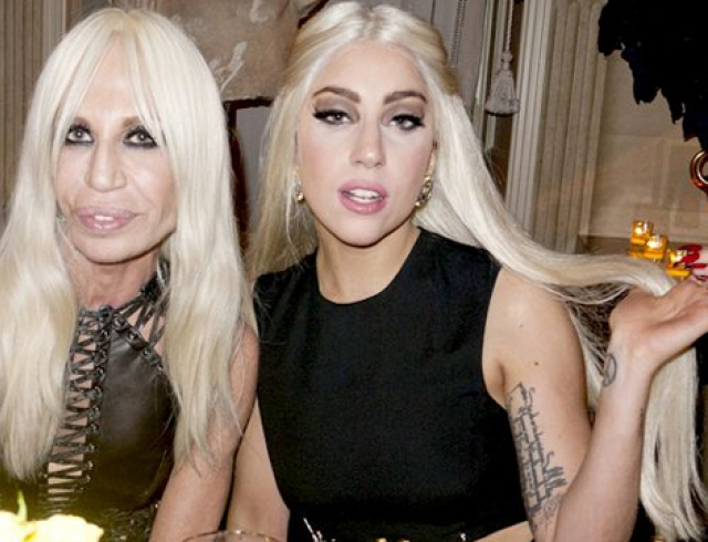 Леди Гага стала новым лицом Модного дома Versace