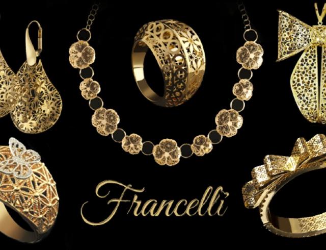 Francelli: украшения от итальянских дизайнеров теперь в Украине