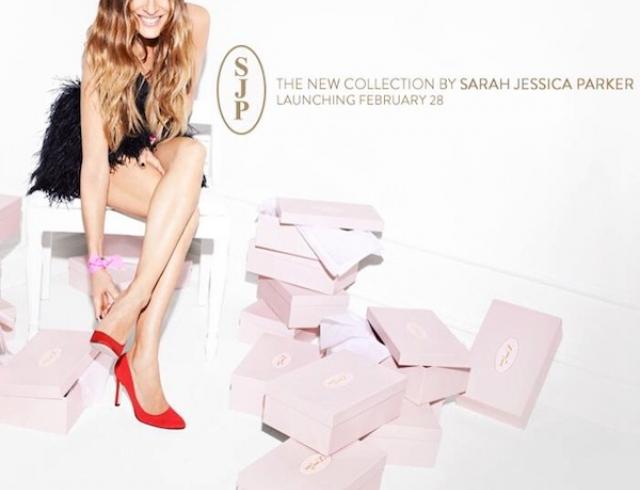 Сара Джессика Паркер презентовала дебютную коллекцию обуви