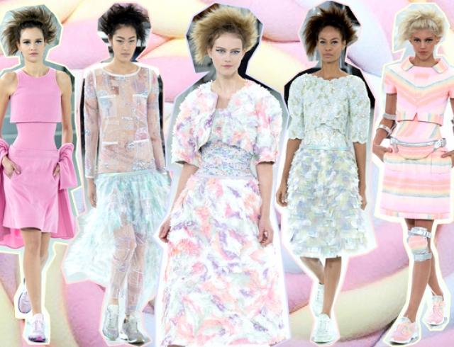 Неделя высокой моды в Париже: Chanel весна-лето 2014