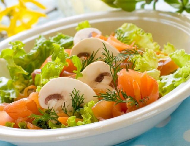 Топ 5 салатов с хурмой