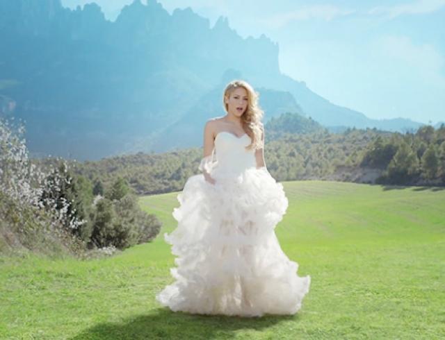 Шакира выпустила клип на песню Empire