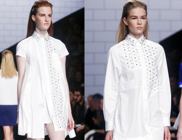 Платье-рубашка от Viktor&Rolf