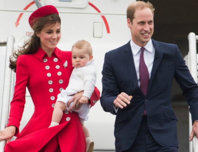 Принц Георг отправился в первое в своей жизни турне по Новой Зеландии и Австралии