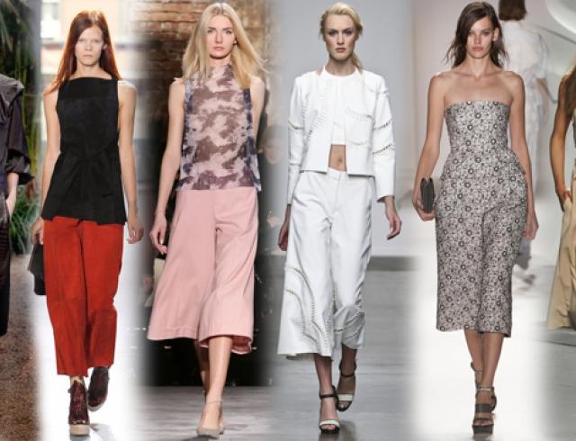 Тренд: модные брюки-кюлоты