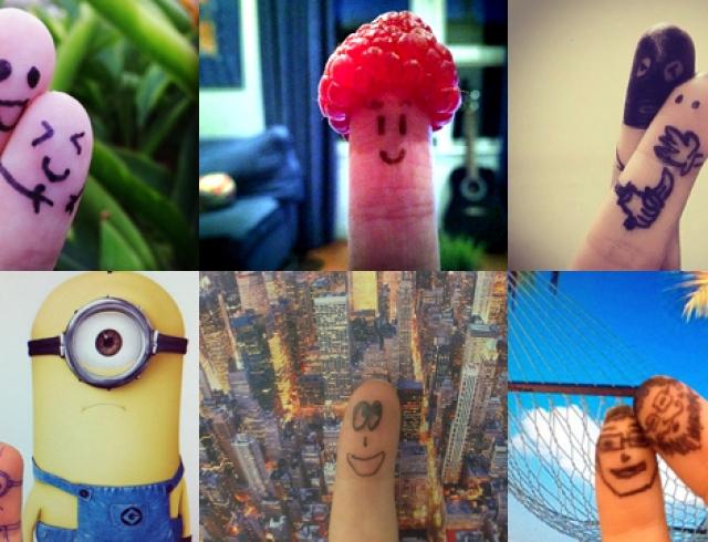 Fingerselfie - новое увлечение в Instagram