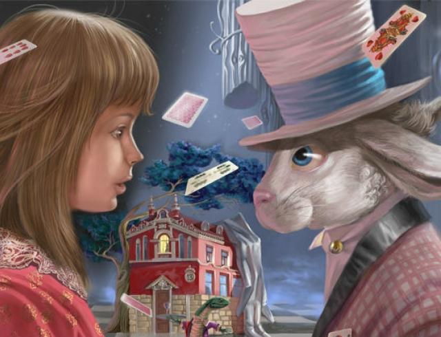 День рождения Алисы в стране Чудес