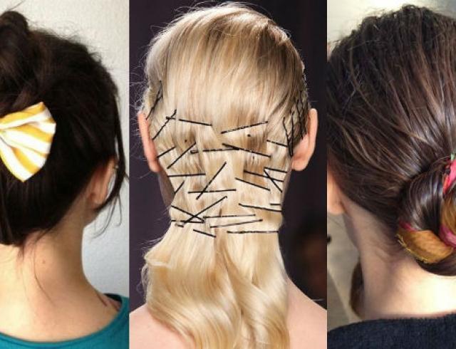 Идеи использования аксессуров для волос