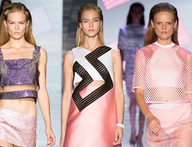 Неделя моды в Милане: Versace, весна-лето 2015