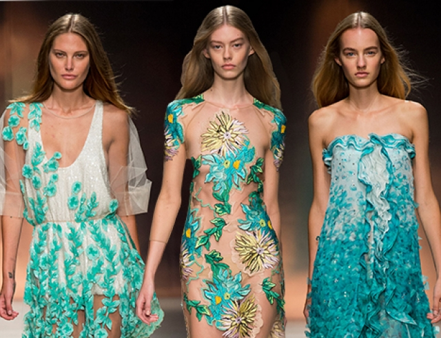 Неделя моды в Милане: Blumarine, весна-лето 2015
