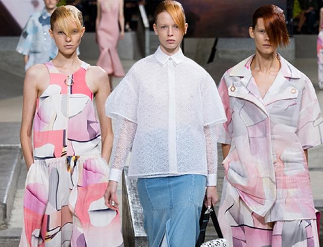 Неделя моды в Париже: Kenzo, весна-лето 2015