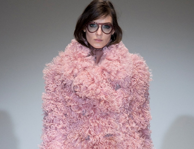 Куртка из овчины Gucci