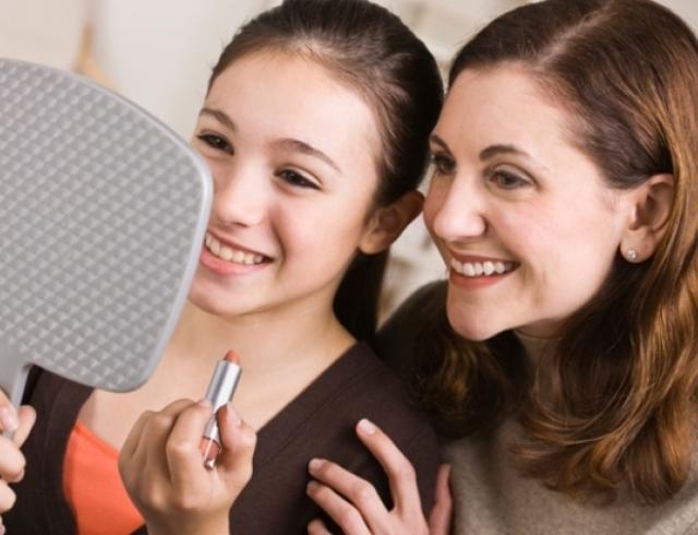 Какую косметику можно использовать вместе с дочерью-подростком
