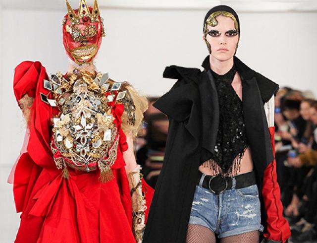 Коллекция Maison Martin Margiela Couture, весна-лето 2015