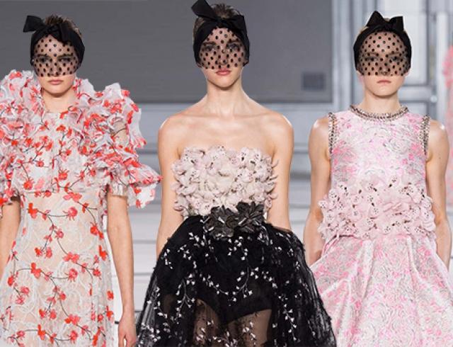 Неделя высокой моды в Париже: коллекция Giambattista Valli, весна 2015