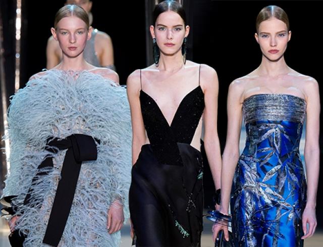 Неделя высокой моды в Париже: коллекция Armani Privé, весна 2015