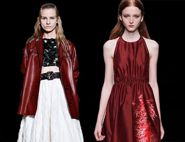 Что носить в 2015 году: 15 образов оттенка Марсала