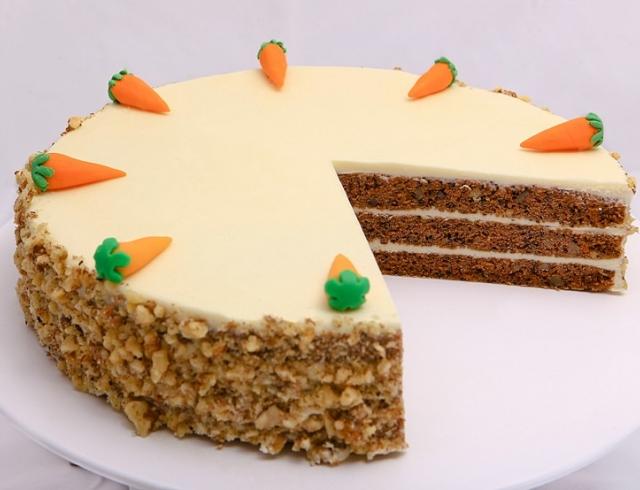 Морковный пирог без сахара