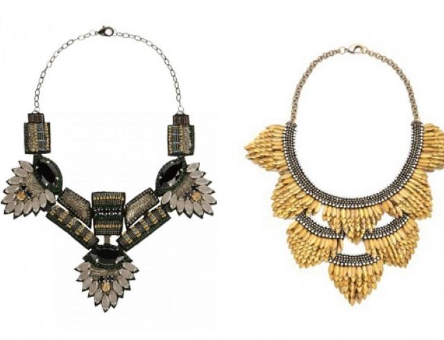 Бриллианты уже не в моде: ожерелья Deepa Gurnani