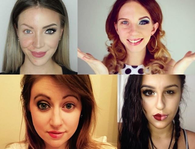 Его Величество макияж: блогеры показали, как лицо без макияжа превратить в лицо с обложки