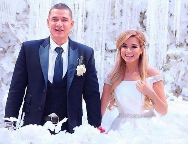Ксения Бородина вышла замуж: зимняя сказка летом