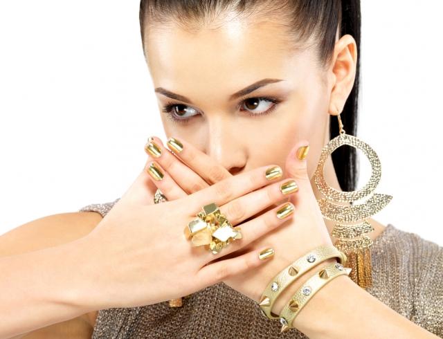 Модный тренд 2015: minx-маникюр. Фото