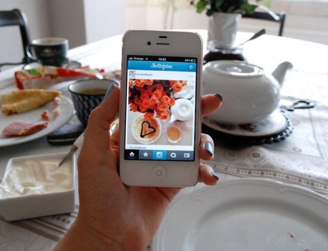 Какая еда самая популярная в Инстаграм