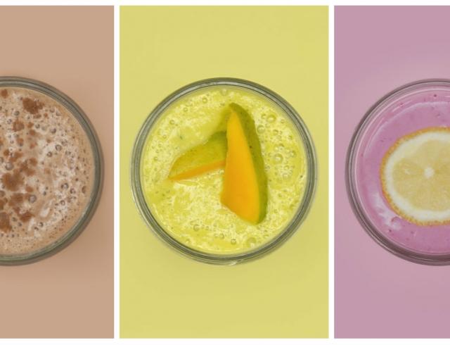 В тренде: институт цвета Pantone представил цветные рецепты смузи
