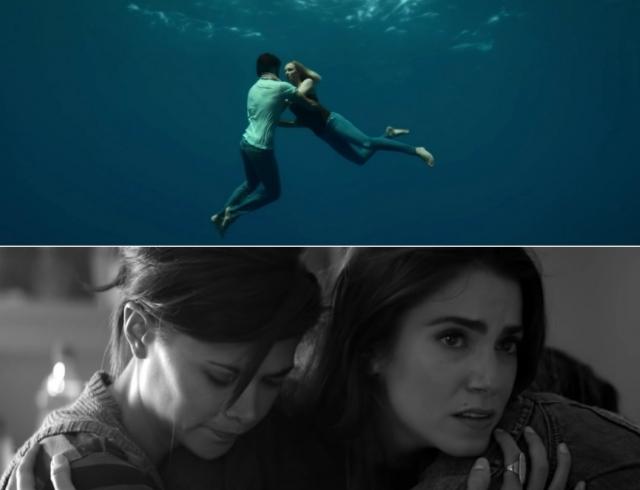Новые клипы Бейонсе и Леди Гаги: красивая подводная любовь и движение против насилия