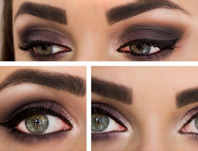 Как сделать модные осенние smoky eyes: пошаговый урок