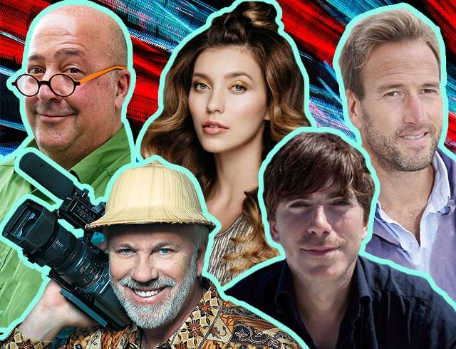 Кем вдохновляться: семь самых известных телепутешественников