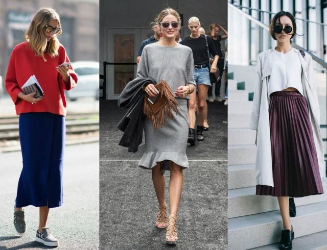 Уличная мода пышные юбки фото