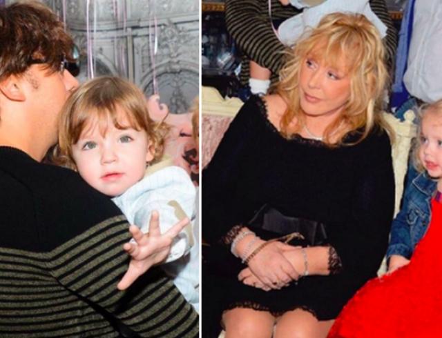Звездные дети: Алла Пугачева и Максим Галкин впервые официально показали детей. ФОТО