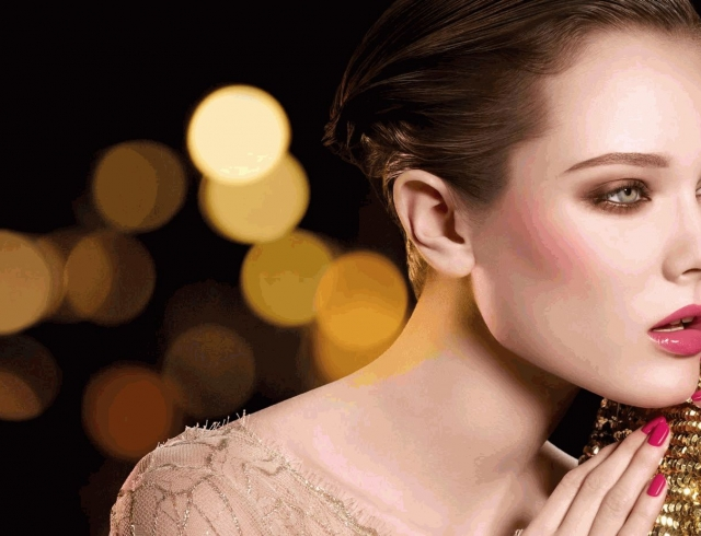 Как сделать новогодний макияж, чтобы он смотрелся на фото