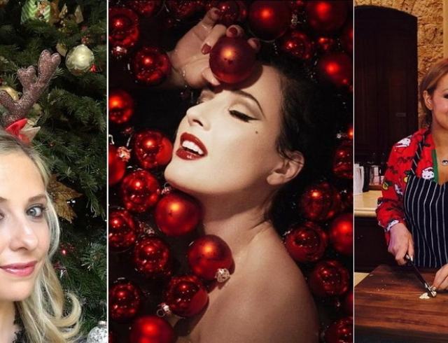 Как западные звезды провели Рождество: яркие фото знаменитостей
