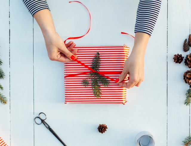 Как сделать упаковку для новогодних подарков своими руками