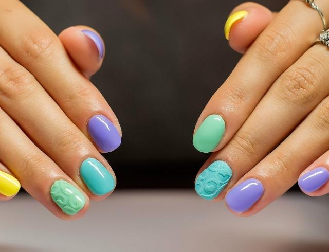 Какие красивые ногти можно сделать фото