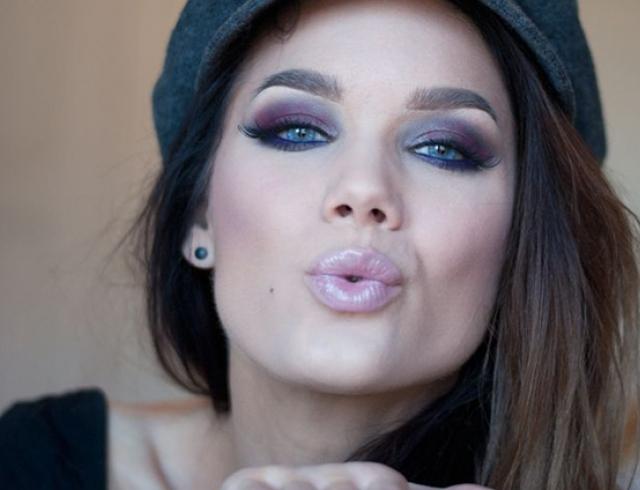 Сексуальный макияж и причёска видео