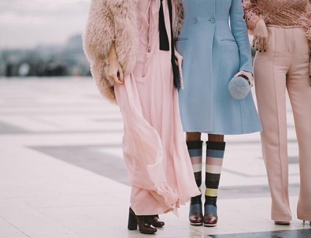 Street style: модная обувь 2016 на Неделе высокой моды в Париже
