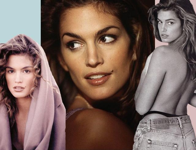 Синди Кроуфорд уходит из модельного бизнеса: лучшие фото супермодели  90-х