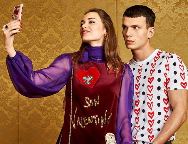 Что подарить на 14 февраля: ко Дню святого Валентина Dolce и Gabbana выпустили игривую коллекцию San Valentino