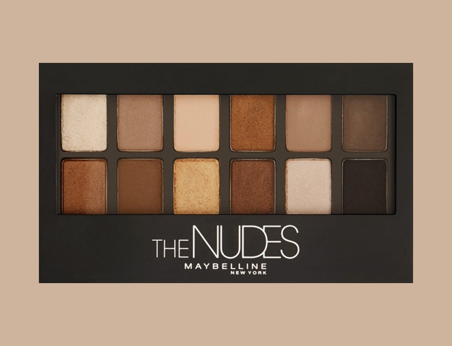 Maybelline The NUDES: бюджетная палетка для качественного мейка